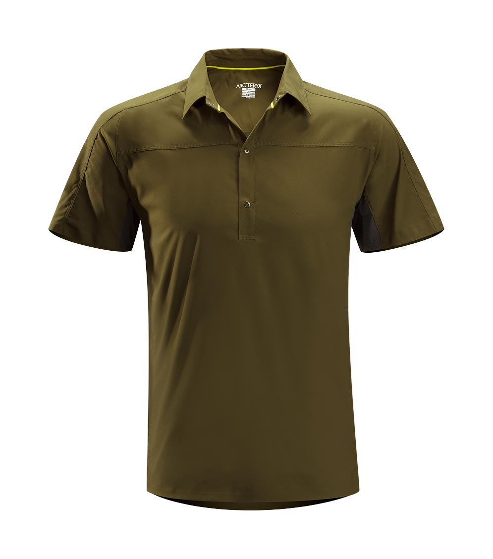 Arcteryx Peat Adventus Comp Polo SS - New